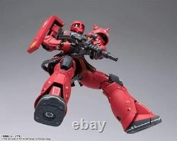 Gundam Fix Figuration Metal Composite The Origin Ms-05s Char's Zaku I Bandai Nouveau
