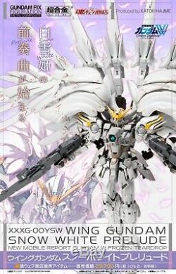 Gundam Fix Figuration Metal Gundam Wing Composites Prelude Blanche-neige