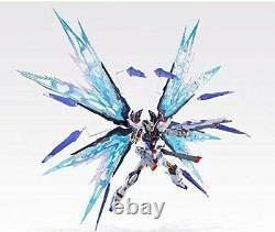 Gundam Métal Build Figure Strike Freedom Soul Blue Ver. Ensemble De Pièces Optionnelles F/s