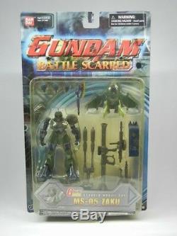 Gundam Msia Le 08 Ms Équipe Scarred Ms-bataille 05 Zaku Action Figure Bandai