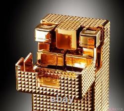Gx-32g24 Soul Of Chogokin Gold Lightan 24 Finition Plaquée Or Bandai Tamashii Soc