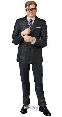 Kingsman Le Secret Service Gary Eggsy Unwin Mafex Action Figure