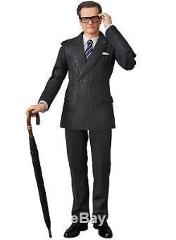 Kingsman Le Secret Service Harry Hart Galahad Mafex Action Figure