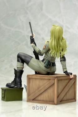Kotobukiya Équipement Métallique Sniper Solide Wolf Bishoujo Figurine Statue