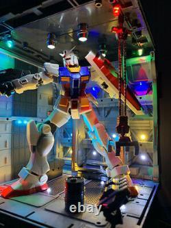 Led Mécanique Chain nest Base Action Machine Pour 1/144 Base De La Figure Rg / Hg Gundam