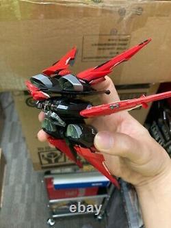 MC Rouge Égaré Gundam Ours En Métal Construire Avec Unité De Vol