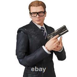 Mafex N ° 072 Kingsman Les Services Secrets Gary Eggsy Unwin Action Figure Witht