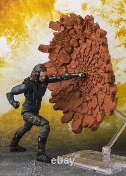 Marvel Avengers Infinity War Bucky Le Soldat D'hiver Shfiguart Bandai Tamashii