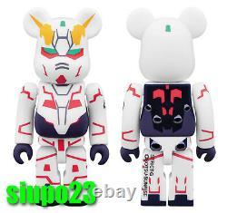 Medicom 100% Bearbrick Gundam Unicorn Uc Be@rbrick Strict-g