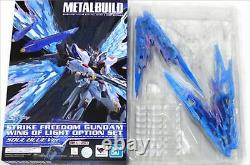 Métal Bâtiment Strike Freedom Gundam Wing Of Light Option Set Soul Blue Ver