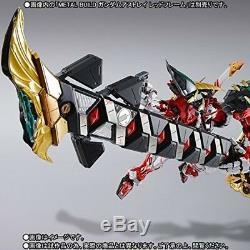 Metal Build Gundam Powered Rouge Et 150 Gerbera Droite Option D'alimentation Set Bandai