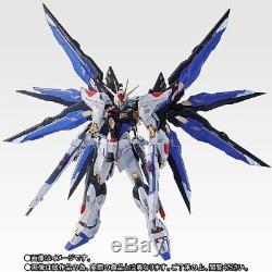 Metal Build Zgmf-x20a Grève Liberté Gundam Soul Bleu Ver Figure Bandai Nouveau
