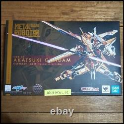 Metal Robot Spirits Orb-01 Akatsuki Gundam 00washi Unité Action Figure Bandai
