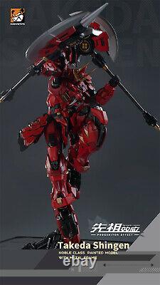 Moshow Takeda Classe De Shingen Noble Niveau D'action Le Plus Élevé Figure Prévente