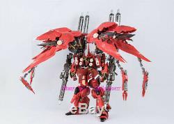 Musclebear MC 1100 Mobile Suit Gundam Unicorn Kshatriya Nz666 Version En Alliage Rouge