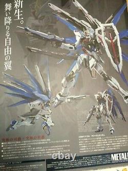 Nouveau Bandai Metal Build (die-cast) Figure Liberté Gundam 2 Concept USA Action