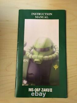 Nouveau Perfect Grade Ms-06 Zaku II 160 Échelle Action Figure Modèle Kit Bandai Pg