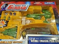 Nouveau Sealed Gundam Mobile Suit Cruiser Peer Gynt Deluxe Battleship Playset Bandai