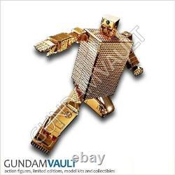 Nouvelle Âme De Chogokin Gx-32 24k Plating Gold Lightan Model Kit Bandai