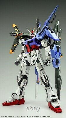 Pas De Boîte Moshow 1/72 Strike Gundam Avec Pistolet Et Épée Ensemble D'armes