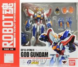 Robot Spirits Âme Tamashii 168 Dieu G L'action Gundam Bandai Figure C9-10