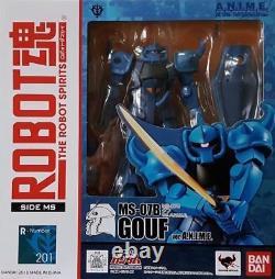 Robot Spirits R-201 Side Ms Ms-07b Gouf Ver Anime Action Figure Bandai R 201