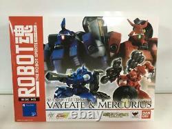 Robot Spirits Side Ms Vayeate & Mercurius Gundam Wing Action Figure Bandai