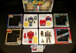 Seven Clover Vintage Gundam, Metal, Guntank, Guncannon Ensemble De 4
