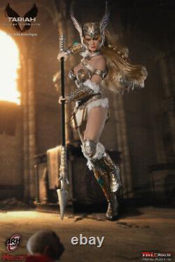 Tbleague Phicen Corps Féminin Sans Couture Tariah Silver Valkyrie 1/12 Figure D'action