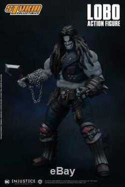 Tempête Collectibles 1/12 DC Comics Gods Among Us Injustice Lobo Action Figure USA
