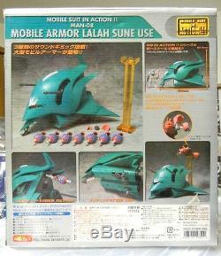 USA Bandai Msia Gundam Mobile Armor Elmeth Figure Avec Son Effet Et Entonnoirs