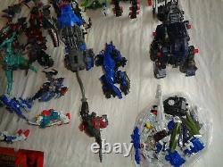 Vieille Figure Mixte Lot De Gundams, Transformateurs, Zoids Etc Parts