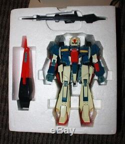 Z Gundam De Luxe Mobile Costume Msz-006 Échelle Bandai Expédition 1/100 Gratuite USA Utilisé